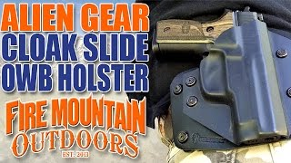 Video Alien Gear: Cloak Slide Concealable OWB Holster Review and Demo download MP3, 3GP, MP4, WEBM, AVI, FLV Juli 2018