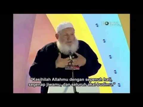 Wanita Katolik tanya mengapa Yusuf Estes menerima Islam? (indonesia subtitle)