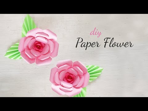 DIY Paper Flowers | DIY Flower Making | DIY Paper Flower Decorations