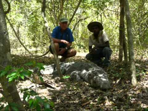 King Cobra & Crocodile Conservation by Romulus Whitaker