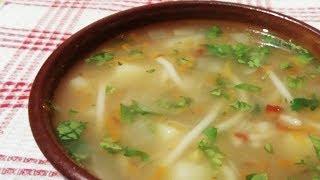 Постный суп без маслa, но с полным вкусом