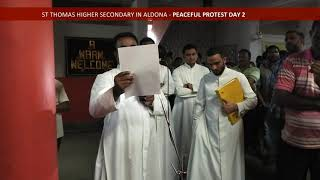 PEACEFUL PROTEST HELD AT ALDONA DAY 2