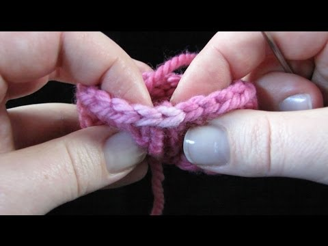 Neaten The Last Stitch Of Your Bind-Off In The Round - Bind-Off Trick