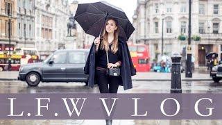 VLOG: LONDON FASHION WEEK   Hello October