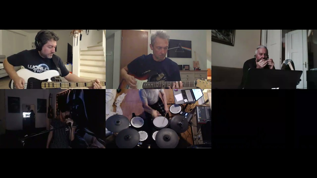 BANDHUG cover of Magic Way Alice - I Wish (Infected Mushroom Live cover) - cover