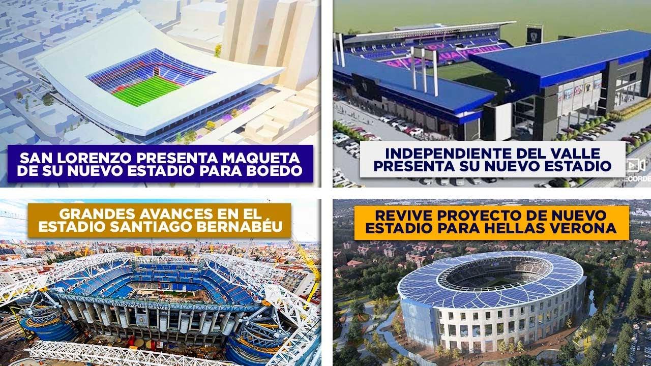 San Lorenzo presenta maqueta de estadio - Avances del Bernabéu - IDV muestra render de su estadio