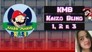 SMW Kaizo Blind 1, 2, 3 [Sem Save State] - PASSANDO MAL NAS KAIZO BR!