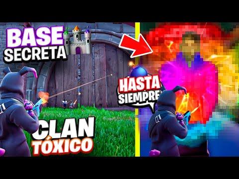 CLAN de NIÑOS TÓXICOS intenta DESTRUIR mi BASE SECRETA en Fortnite y PASA ESTO... *INCREIBLE*