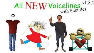 All NEW Voicelines with Subtitles (v1.3) | Baldi's Basics in Education and Learning thumbnail