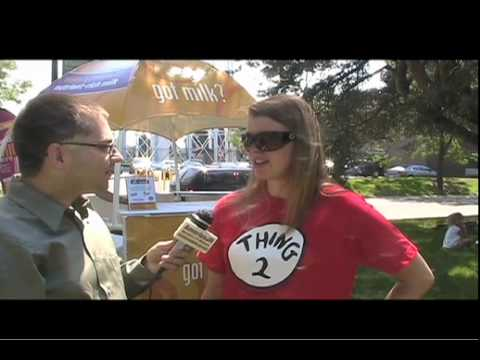 """Highlights of the """"Milk the Moment Tour"""" at the Detroit Zoo with interviews July 6 - 7, 2010"""