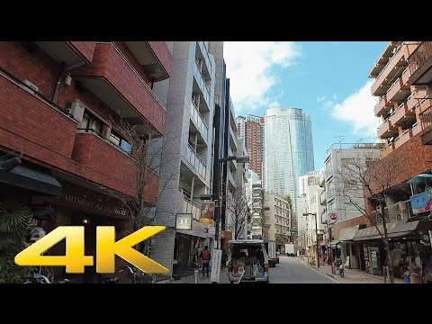 Walking around Azabu Juban Minatoku, Tokyo - Long Take【東京・麻布十番】 4K