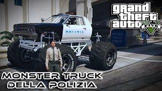 GTA 5 MOD ITA - IL MONSTER TRUCK DELLA POLIZIA - LAVORO IN POLIZIA - GTA 5 GAMEPLAY ITA