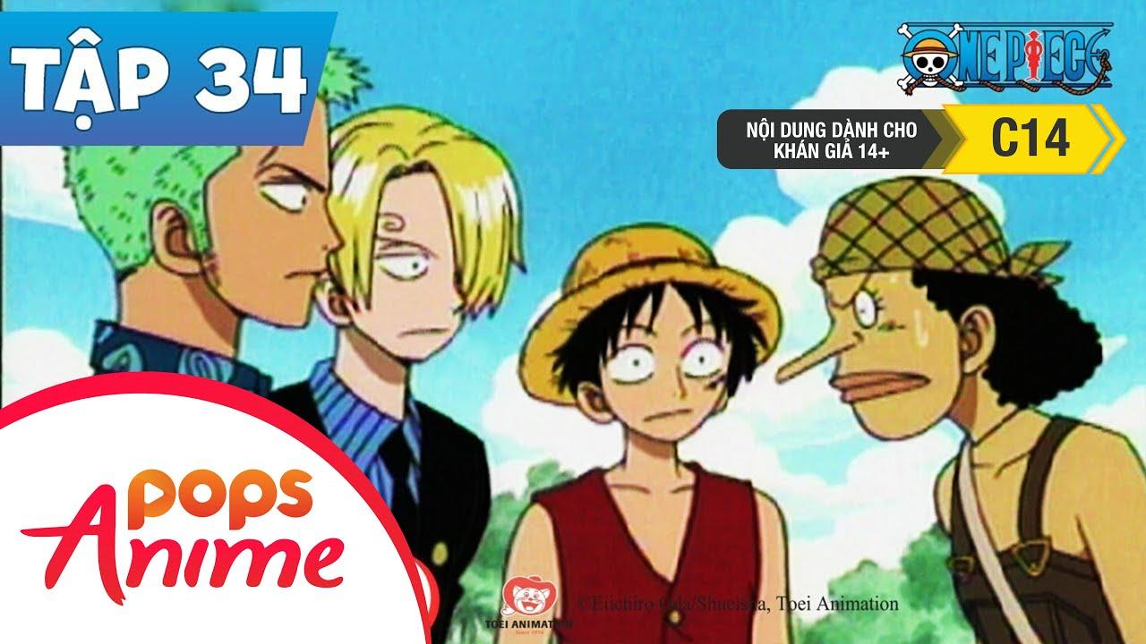 One Piece Tập 34 - Tập Hợp! Usopp Kể Lại Sự Thật Về Nami - Hoạt Hình Tiếng Việt