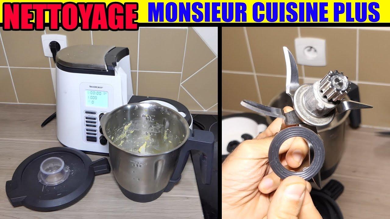 Nettoyage Monsieur Cuisine Plus Lidl Silvercrest Entretien Lave