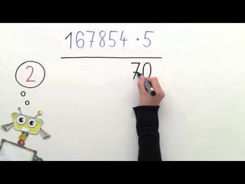 Wie multipliziert man schriftlich? Übungen | Mathematik | Zahlen ...