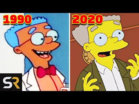 10 Simpsons Characters Who Changed The Most Since Season 1