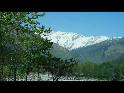 Beautiful mountain veiw in Manali ❤️🤗