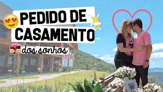PEDIDO DE CASAMENTO SURPRESA em Gramado 💖💍