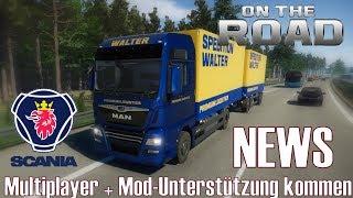 On the Road Truck Simulator  ★ NEWS I Multiplayer + Mod-Unterstützung kommen [Deutsch/HD]