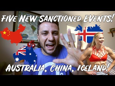 Australia, China, Iceland Sanctionals Announced! 2019 & 2020 CrossFit Games News