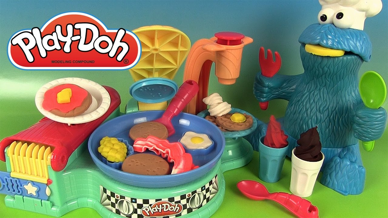 Pâte à Modeler Play Doh Petit Déjeuner Flip N Serve Breakfast