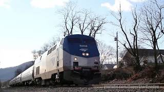 Amtrak & Metro-North at Manitou