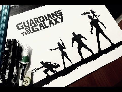Стражи Галактики! / Как нарисовать / DA