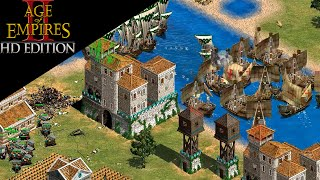 Fighting the Hardest A.I. with Krebs 2v2 - Age of Empires II HD Edition