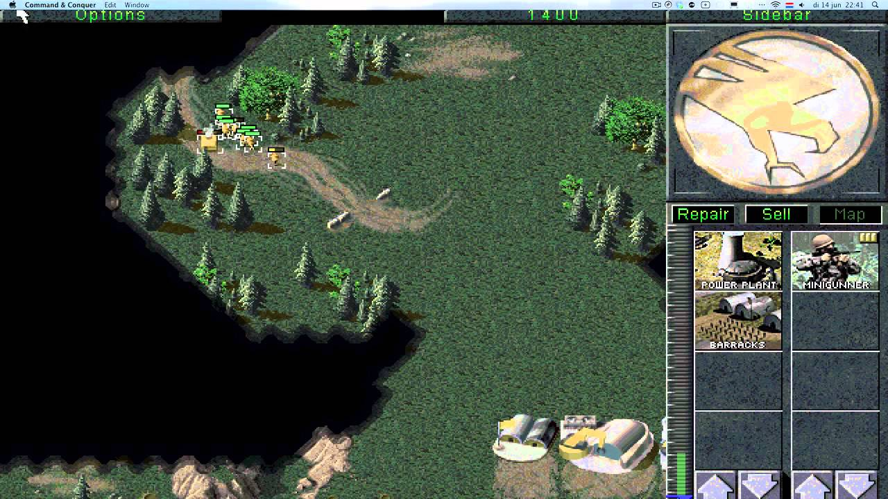 old command and conquer games for mac
