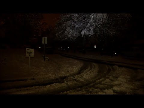 Raw: Deep Snow, Power Outages in North Carolina