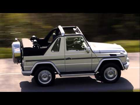Mercedes benz g class cabriolet youtube for Mercedes benz g class cabriolet