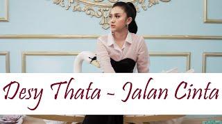 DESY THATA – JALAN CINTA NO.5 Original Version ( OFFICIAL LYRICS VIDEO )   DANGDUT GARAGE