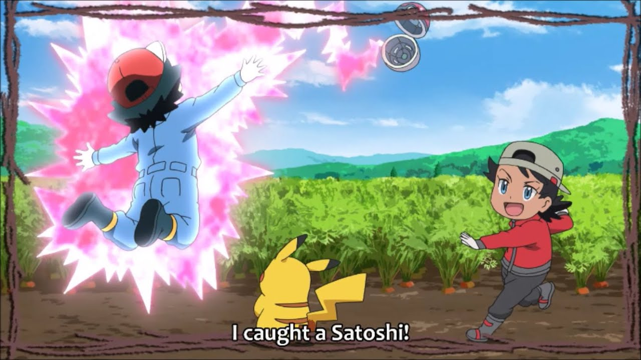 Download Pokemon Journeys - Goh caught Ash