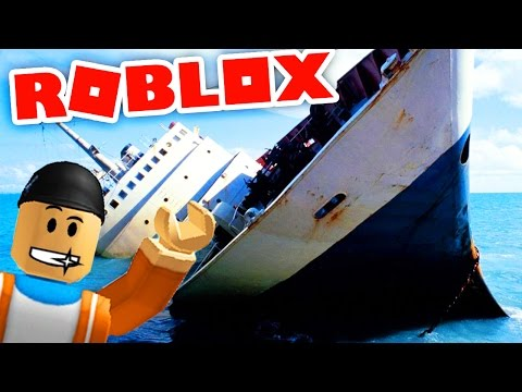 BUILDING HUGE BOATS TO ESCAPE THE FLOOD IN ROBLOX! | ROBLOX Whatever Floats Your Boat Gameplay