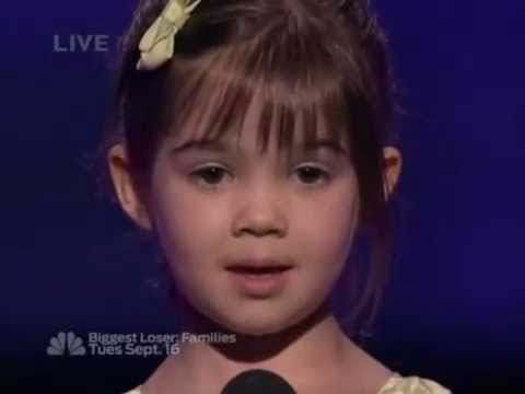 Kaitlyn Maher  What A Wonderful World Louis Armstrong  Semi Final Americas Got Talent
