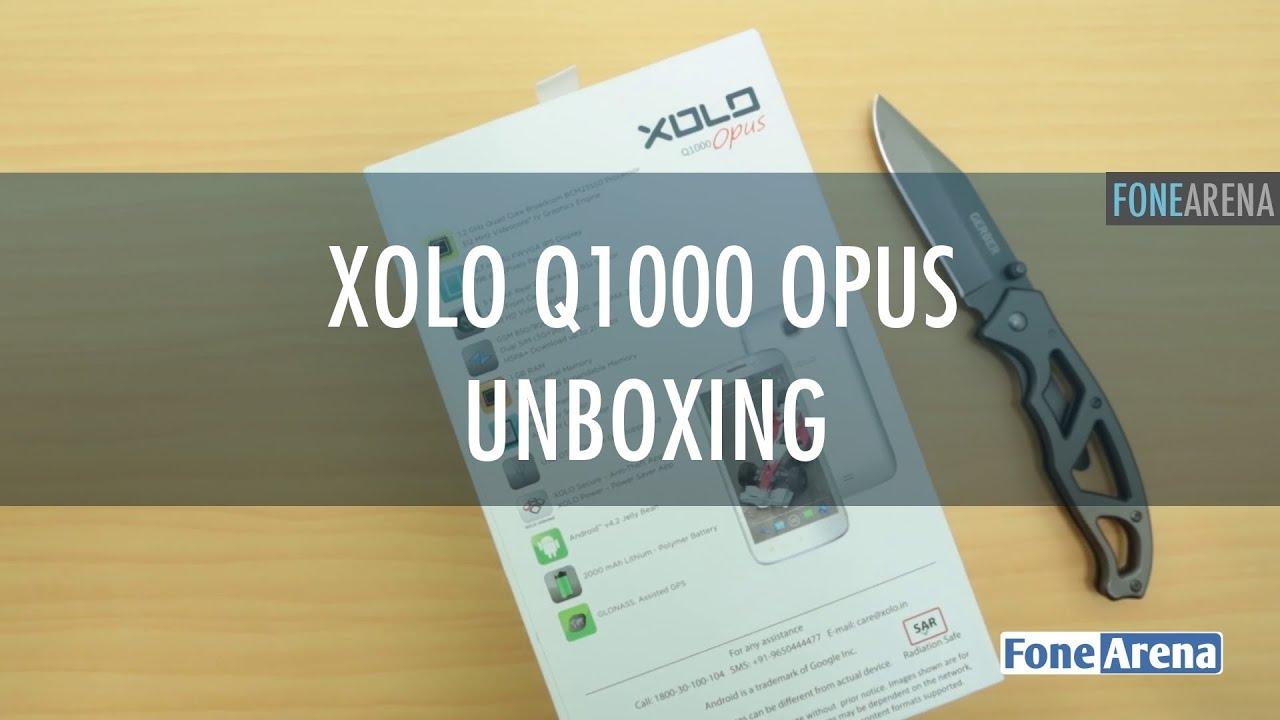 Xolo Q1000 Opus Unboxing - YouTube