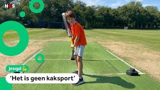 Steeds meer kinderen spelen cricket