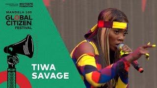 "Tiwa Savage Performs ""Girlie 'O'"" | Global Citizen Festival: Mandela 100"