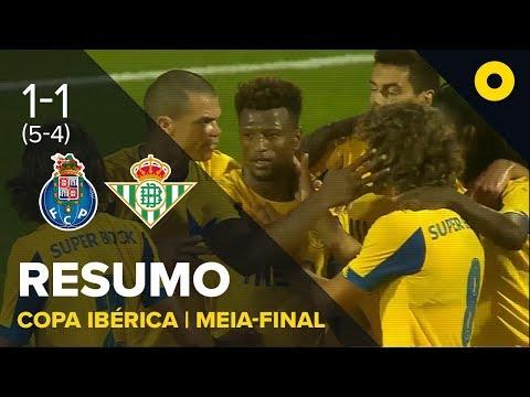 FC Porto 1-1 Bétis (5-4 g.p.) - Resumo | SPORT TV