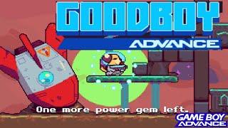 GoodBoy Advance (GBA HOMEBREW) - GameBoy Advance Longplay (NO DEATH RUN) (Complete Walkthrough)