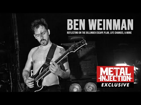 Ben Weinman Reflects on THE DILLINGER ESCAPE PLAN Days, Film Scoring & More | Metal Injection