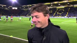 Jon Dahl Tomasson [pregame] NAC Breda - Roda JC Kerkrade 8 februari 2014