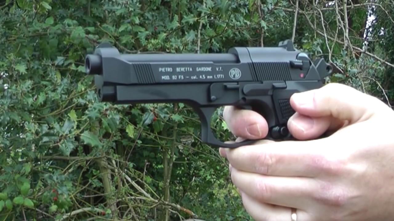AIR PISTOL - Umarex Beretta 92FS CO2 Pistol  177 Replica Gun