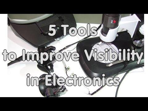 #62 Five Tools To Improve Visibility/Magnification In The Lab