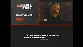 Deep Blue Sea (1999) End Credits (AMC Fearfest 2010) #2