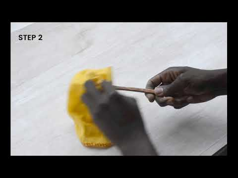 How to revive wooden utensils
