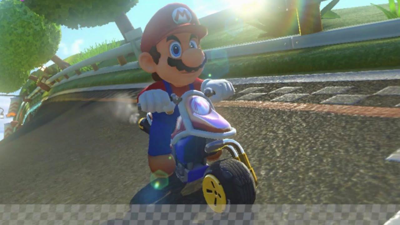 Mario Kart 8 Mario Motorcycle Gameplay Hd Youtube