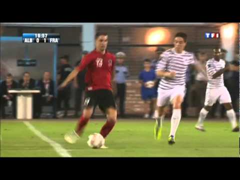 France - Albanie Buts Benzema et M'Villa