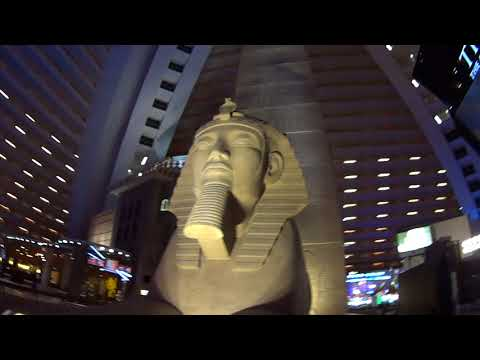 Tour of the Luxor Pyramid Hotel and Casino in Las Vegas