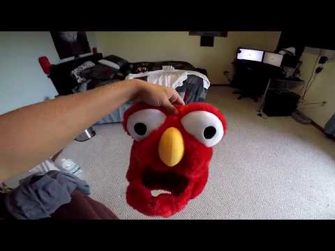 Elmo on a Motorcycle? - Luckii